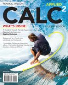 Applied CALC 2nd edition