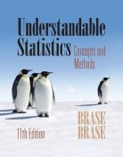 Understandable Statistics: Concepts and Methods 11th  edition