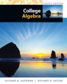College Algebra 8th edition