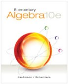 Elementary Algebra 10th edition